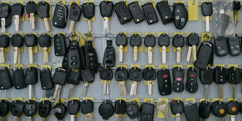 ignition key - Locksmith Framingham MA